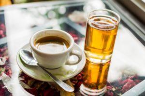 thé, café